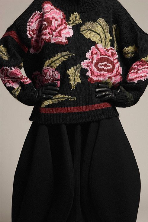 knitGrandeur: Re-Embroidered