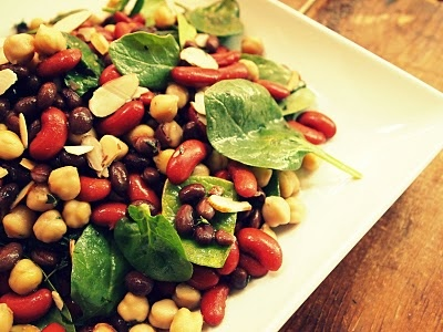 Honey Balsamic Bean Salad | Recipes | Pinterest