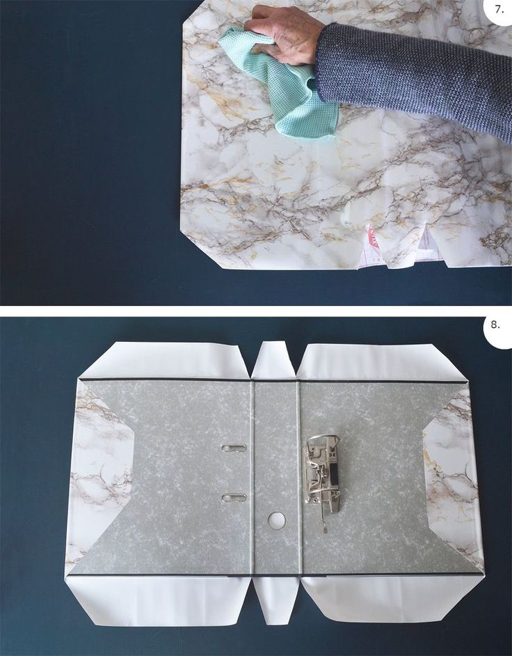 How to Cover a Lever Arch File