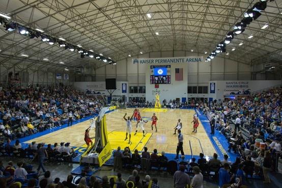 UCSC night, Santa Cruz Warriors Basketball