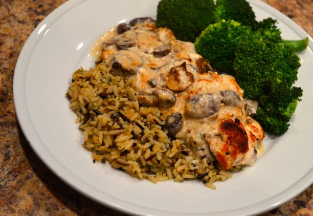 Sherry Mushroom Chicken- the best!! | Food & Cocktails | Pinterest