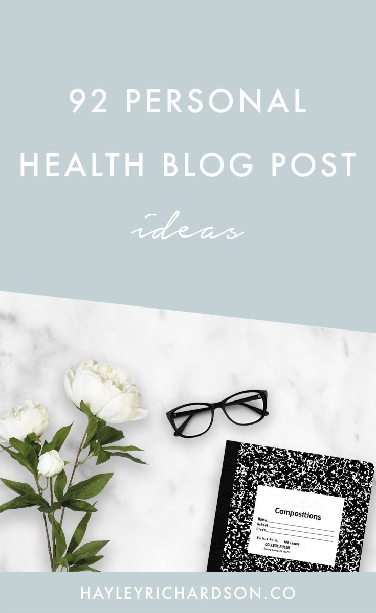 Looking for blog post ideas for your health blog? Look no further - here's 92 personal blog post ideas for health bloggers. Click through to read and get your blog post generator worksheet.