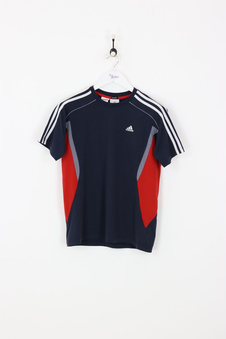 Adidas T Shirt Navy Small In 2019 Vintage Adidas T