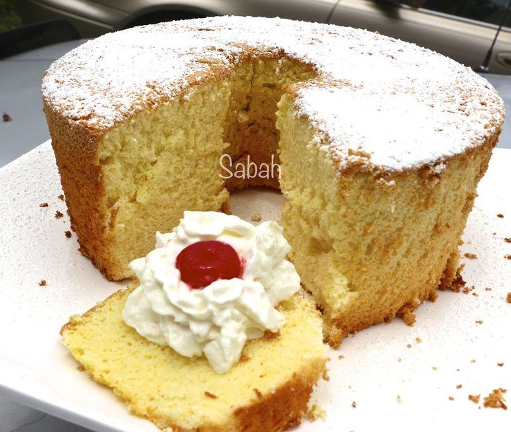 Recette de g teau ponge americain facile rapide american sponge cake ramadan - Gateau de noel facile et rapide ...