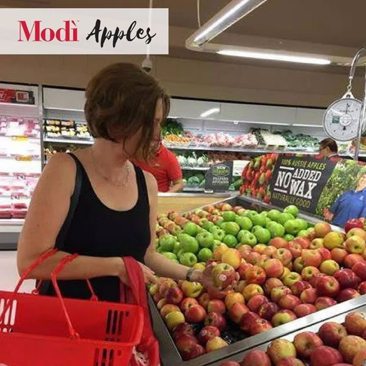 It's FriYAY and for some it's a public holiday today for the AFL Grand Final on tomorrow other States have a holiday on Monday so for many it's a long weekend.  This lovely shopper has the right idea stocking up on Modì s and if you're watching the game grab some to snack on - may the best team win!     #lovemodi
