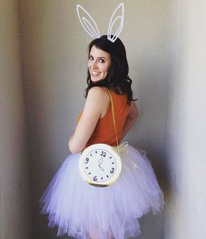 Pin for Later: 105 DIY Costumes For Women You'll Be OBSESSED With Alice in Wonderland's White Rabbit