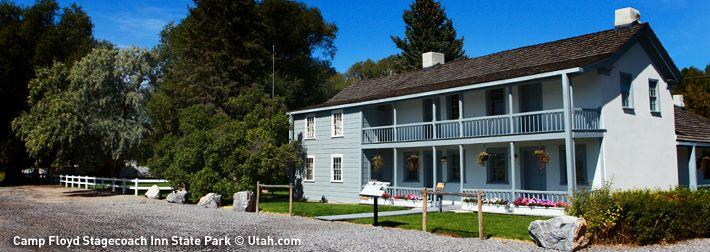 Camp Floyd / Stagecoach Inn State Park   Utah.com