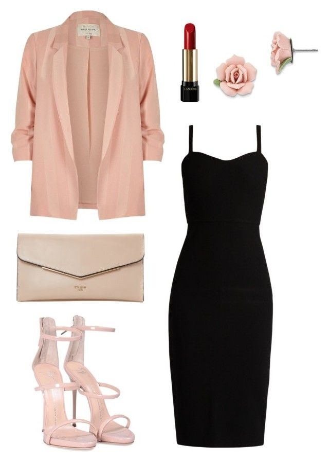 """Go to Exhibition"" by christie-devina on Polyvore featuring River Island, MaxMara, Dune, Giuseppe Zanotti, Lancôme and 1928"