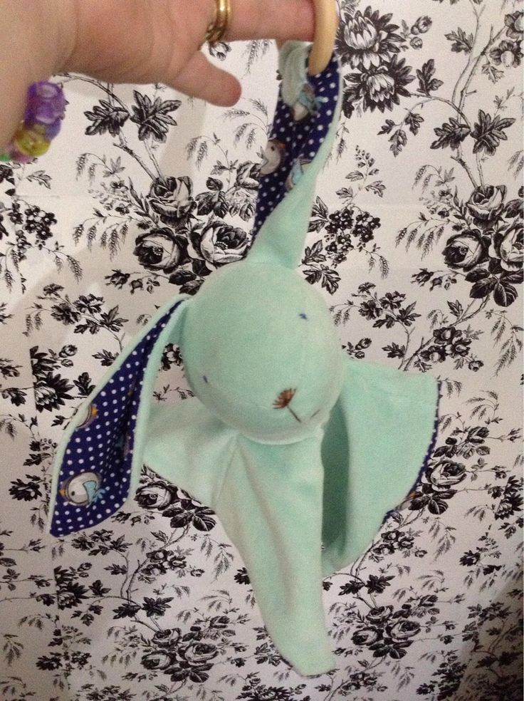 Excited to share the latest addition to my shop: Premium velour Babydoo bunny infant toy #etsy