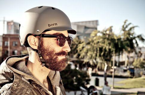 A helmet even @Lou Delaney Delaney Simmons would wear. Bern Watts Bicycle Helmet