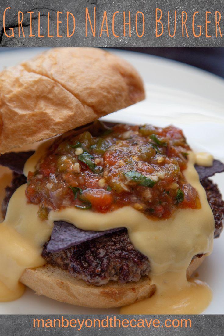 Grilled Nacho Burger