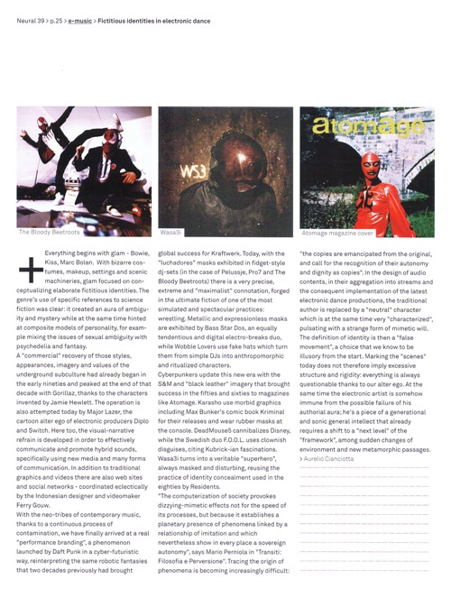WASA3I on Neural Magazine | Issue 39