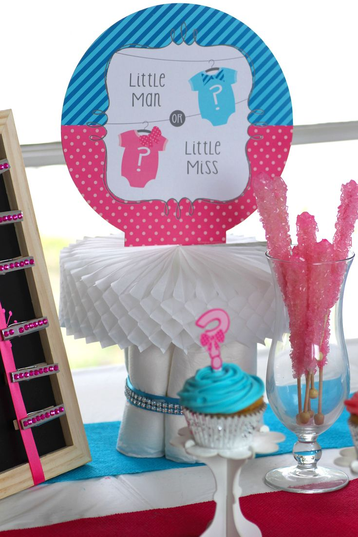Bow Or Bow Tie Gender Reveal Baby Shower