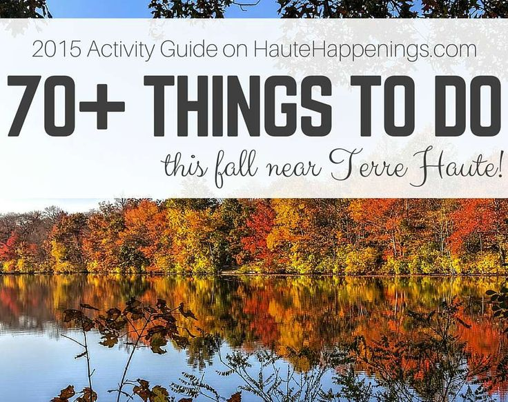 Looking for something to do this fall in the Wabash Valley? This guide is the answer! It has over 70 fun things to do in Terre Haute Indiana this season!