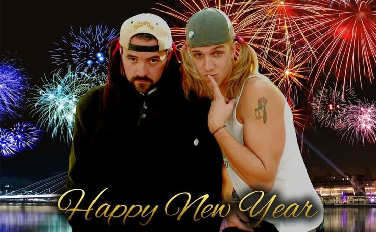 Happy New Year from Jay & Silent Bob, Kevin Smith & Jason Mewes, Clerks 2
