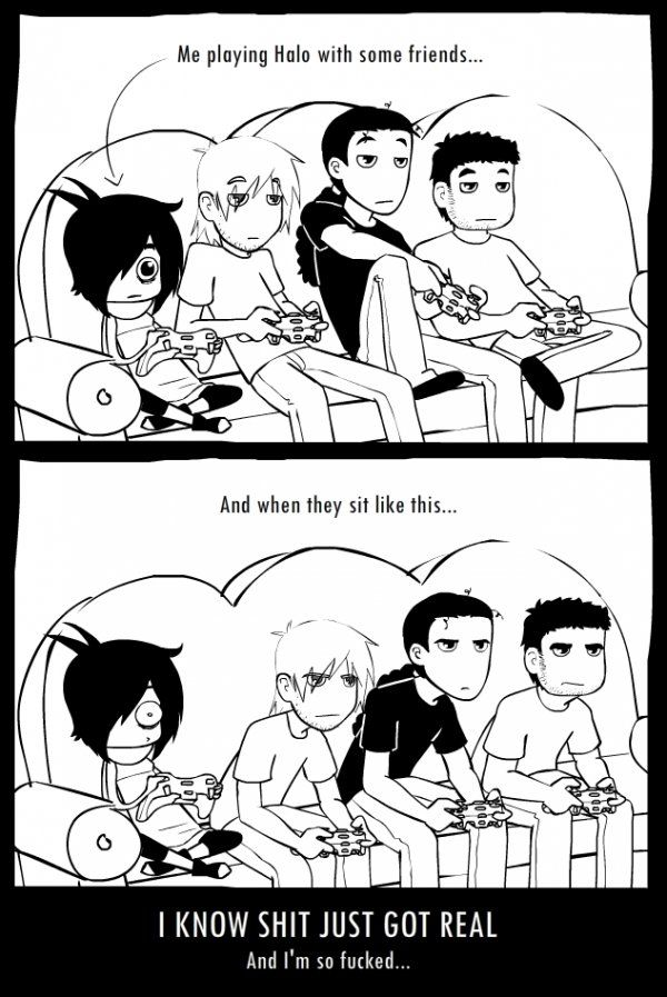 """You can exchange """"Halo"""" with whatever game you want - this is still so true!"""