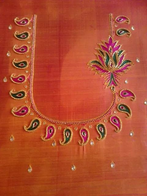 Perfect for designer pattu saree http://mytailor.in/
