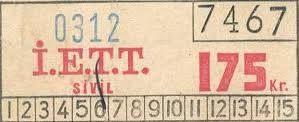 Akbil öyle bir milat ki İstanbul toplu taşıması için, öncesinde nasıl bir sistem olduğunu genç neslin çoğu hatırlamıyor. Öncelikle buradan başlamak lazım. Saman kağıdından yapılan bu biletler ıslandığı anda yok olma özelliğine sahipti. Bu sebeple özellikle yağmurlu havalarda bileti muhafaza etmek ustalık isterdi.  http://on.fb.me/1K2lt1m