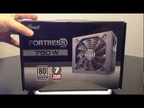Rosewill Fortress 750 Gaming Computer Power Supply Unboxing Review