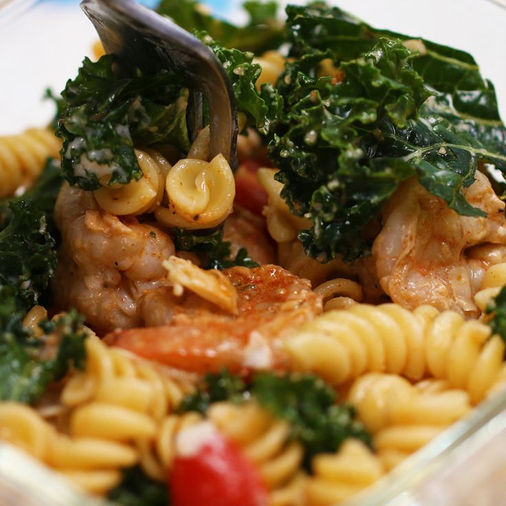 This Kale Caesar Pasta Salad Is The Perfect Week Night Meal