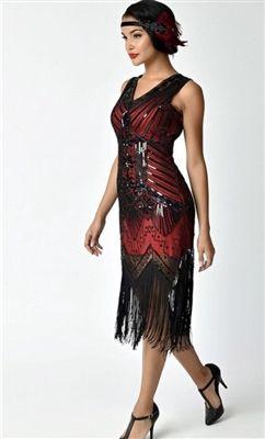 1e8ef64ea98 Red   Black Sequin Latin Dress in 2019
