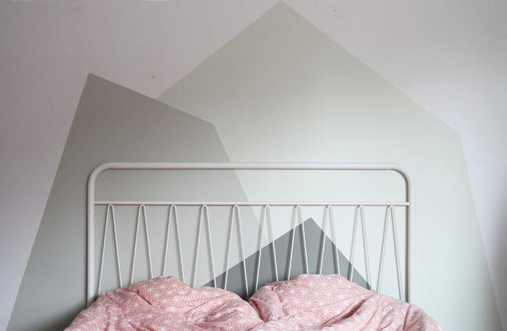 Wand streichen: Muster und 65 Ideen für einen neuen Look