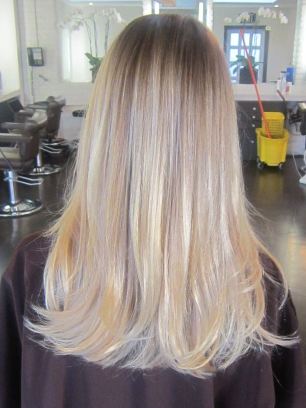 Editor Ash And Blonde Ombre Hair On Pinterest