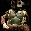 """""""I rushed to my room and started to put on the Boba Fett costume, but all of a sudden I didn't feel like wearing it. I'm not sure why—maybe because it had all these belts that needed to be tightened and I needed someone's help to put it on. All I knew was that it was a lot of work to put the costume on, and Dad was waiting and would get super impatient if I made him late. So, at the last minute, I threw on the Bleeding Scream costume from last year."""""""