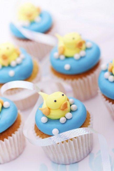 Pasteles Y Cupcakes Para Un Baby Shower ¡de Lujo!