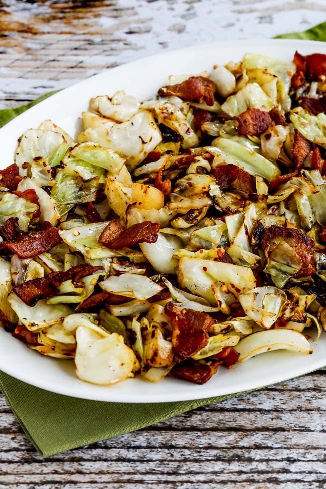 When you need a quick and easy low-carb dinner or lunch, this Low-Carb Fried Cabbage with Bacon is loaded with flavor and can be on the table in no time! And this tasty fried cabbage recipe is also Keto, Low-glycemic, gluten-free, and dairy-free and with the right bacon it can be Paleo! Use the Diet Type …