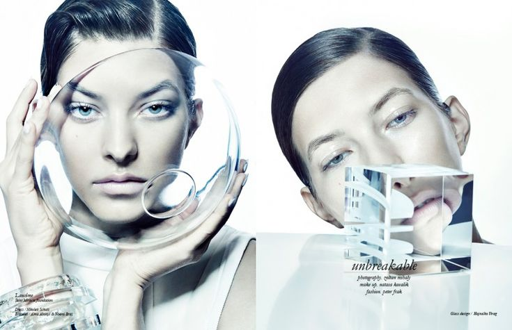 Makeup Looks - Sophisticated Futuristic Beauty