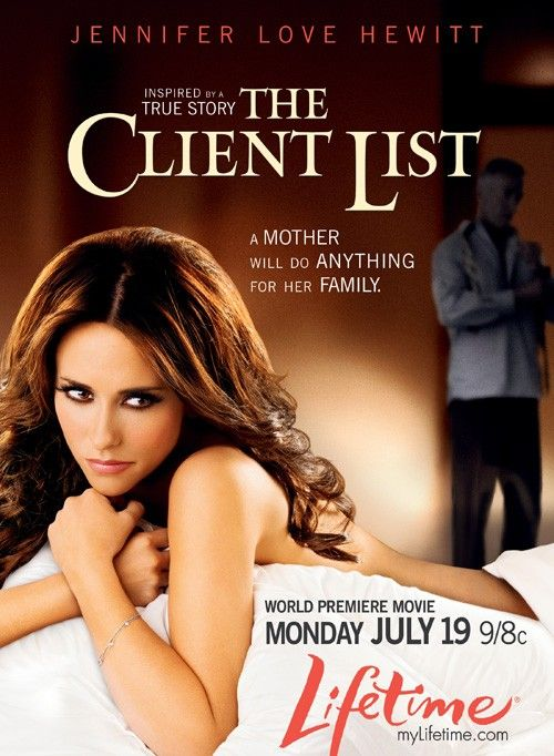 THE CLIENT LIST (2010) - Jennifer Love Hewitt - Inspired by a true story - Lifetime Movie - Print ad