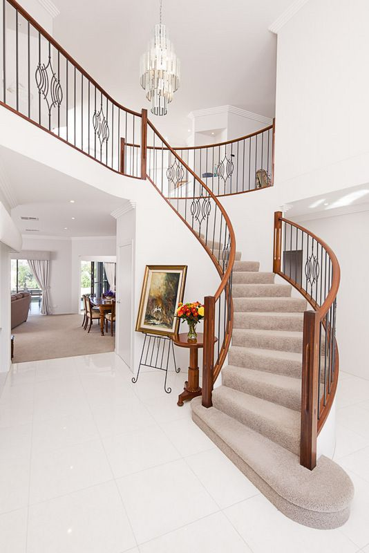 Opulent luxury home & design. Upstairs and downstairs. #stairs #luxuryhome #design