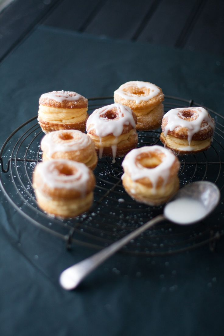 Cheats Cronuts with Orange-infused Custard and Lemon Glaze | Crush Magazine Recipe