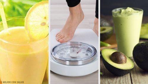 Existe una lista nutrida de bebidas recomendadas para perder peso. Su mayoría combinan frutas y vegetales que tienen acción diurética sobre el cuerpo.
