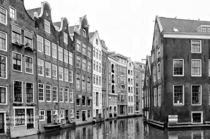 Backside of Zeedijk Amsterdam