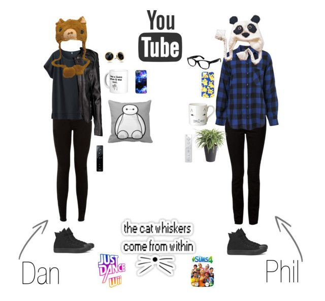 dan and phil by theloneranger98