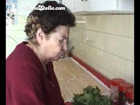 Nonna stella lezione 18 - orecchiette e cime di rapa.