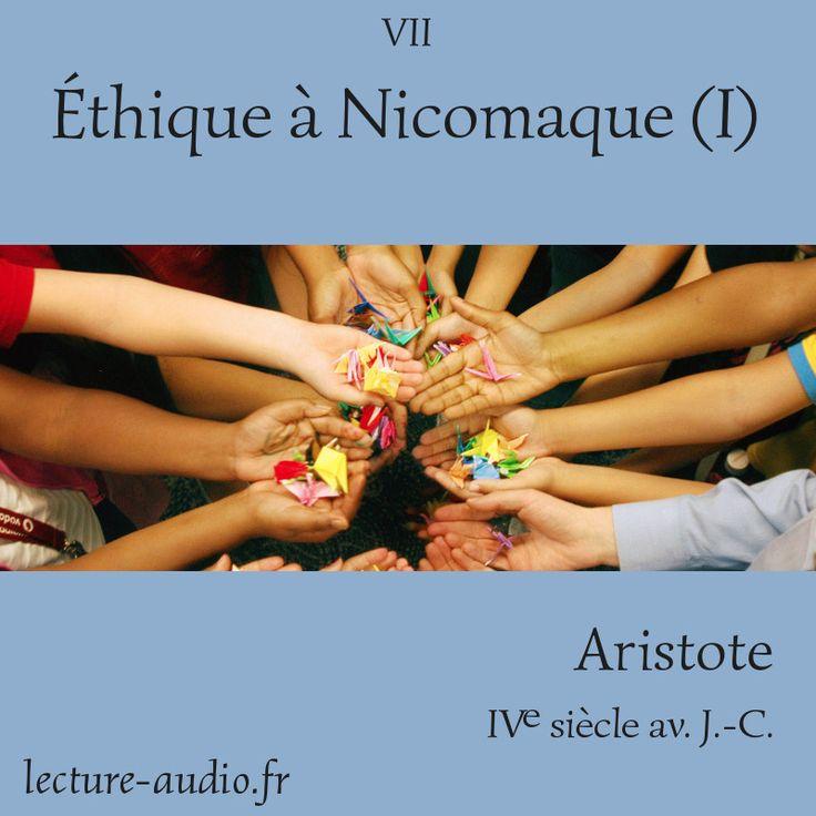 Éthique à Nicomaque Aristote tome I - Livre audio de philosphie