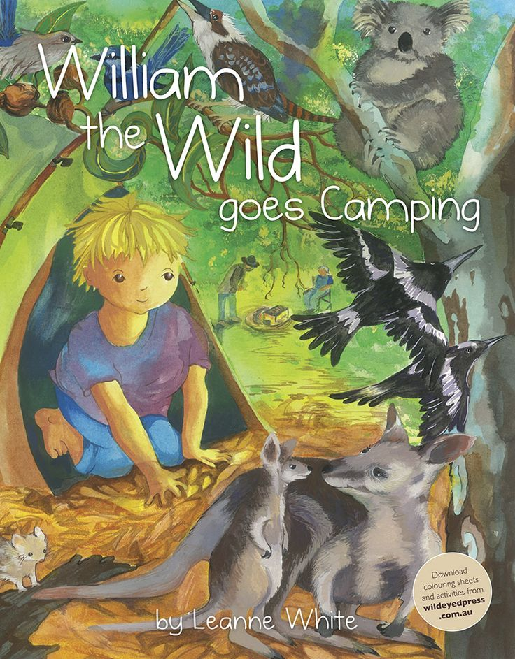 An #Australiana twist #William the wild goes camping by #Leanne #White..check out all these gorgeous #Australian #Gift ides