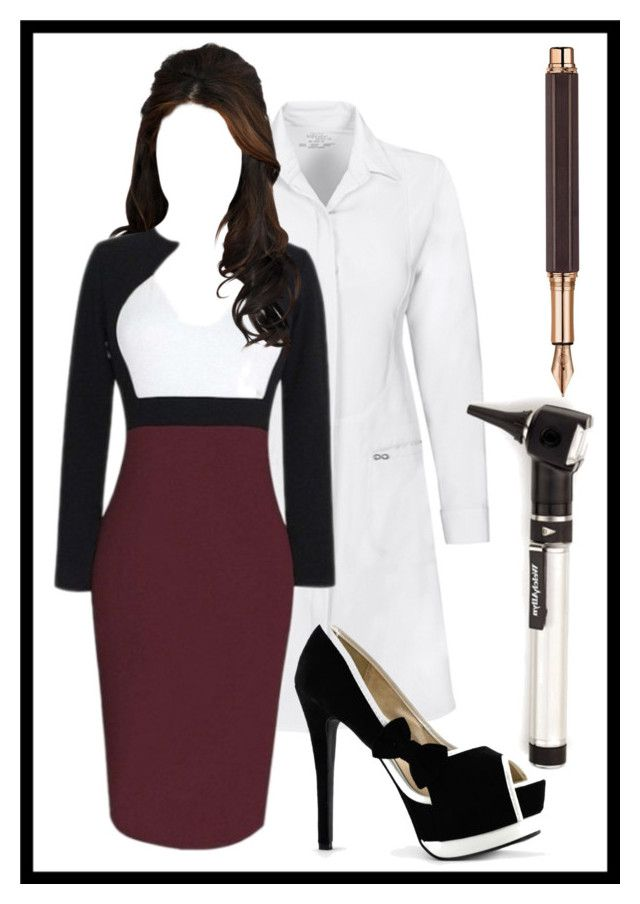 Occam's Razor Pt.1 by aria-mcgee on Polyvore featuring WithChic and Caran d'Ache