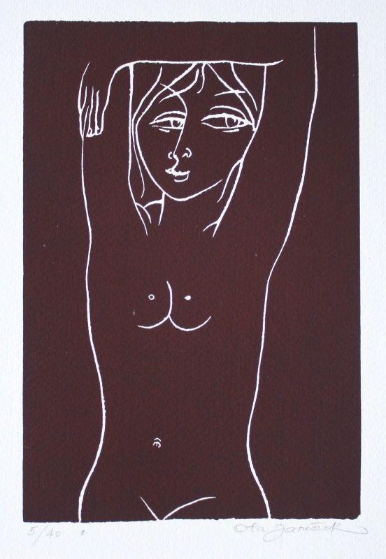 A Nude - Ota Janeček