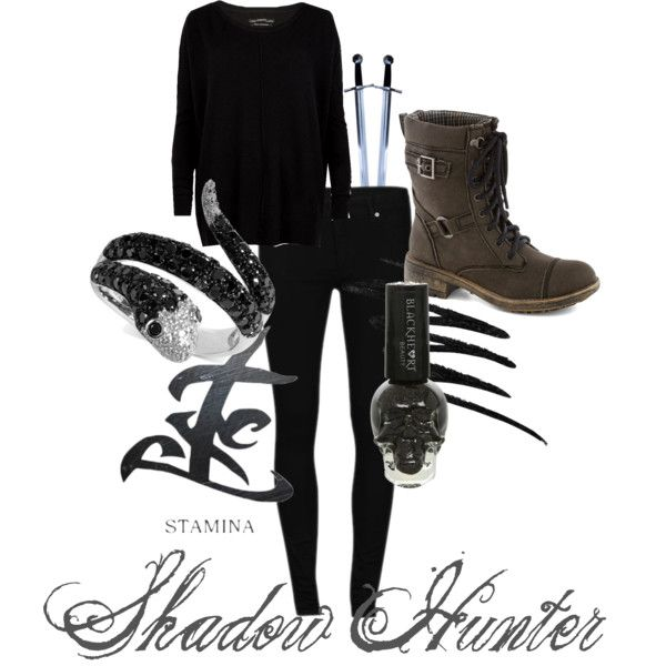 Shadow hunter outfit ( made by jayski )
