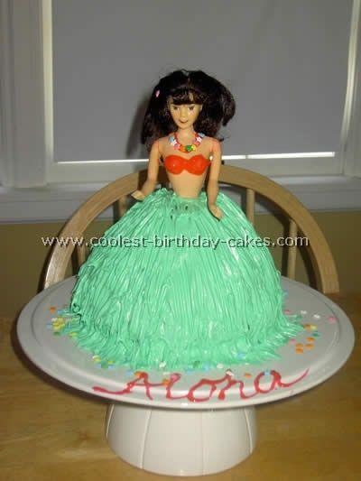 Homemade Luau Party Ideas | Coolest Hula Girl Cakes for a Luau Party Idea