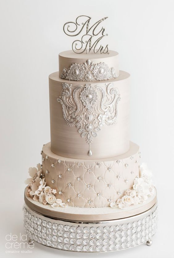 25+ cute Elegant wedding cakes ideas on Pinterest ...