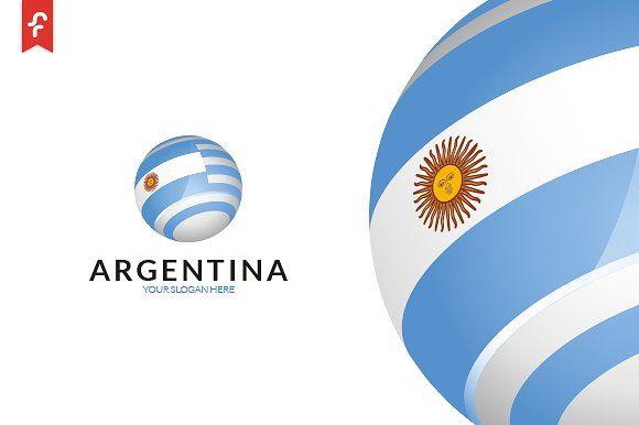 Argentina Logo  @creativework247