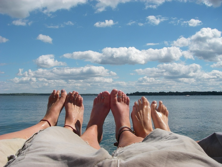 Innisfil, Ontario, end of a sweet summer together!