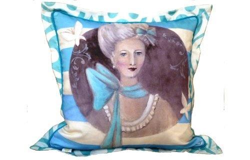 L'Art du Coussin Collection Limited Edition Art Pillow Antoinette Bleu by Le Côté Français Maison, http://www.amazon.com/gp/product/B0096BOQU4/ref=cm_sw_r_pi_alp_pcktqb0650S55