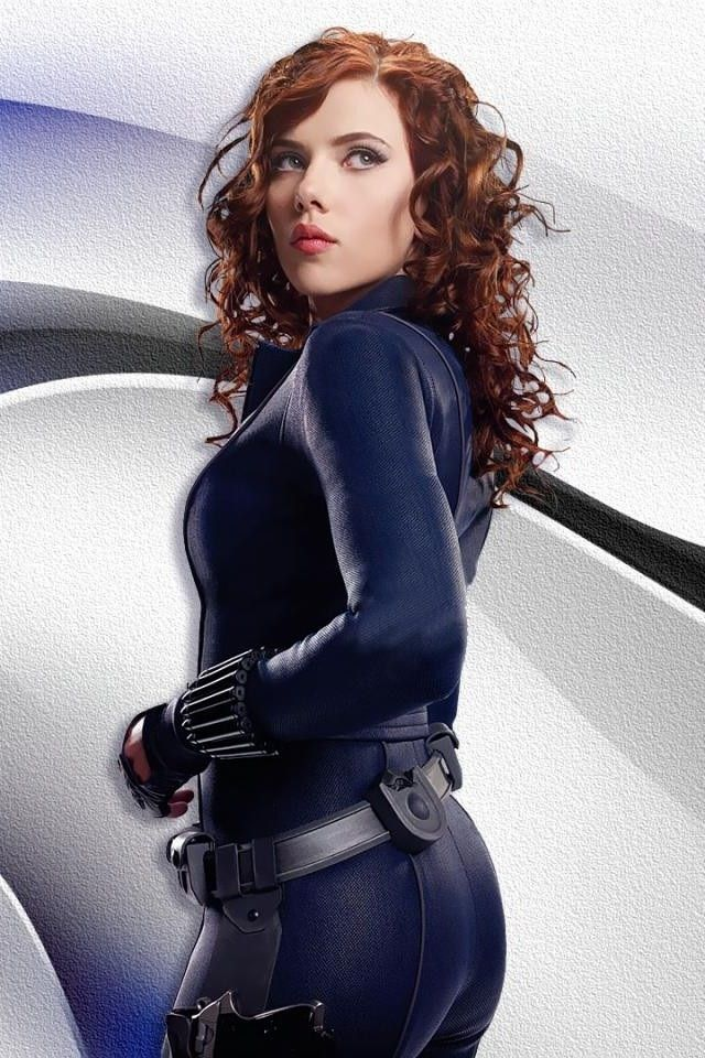 Scarlett Johansson as Natasha Romanoff/Black Widow in Iron Man 2.