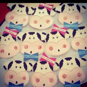 cow craft idea for kids (2)